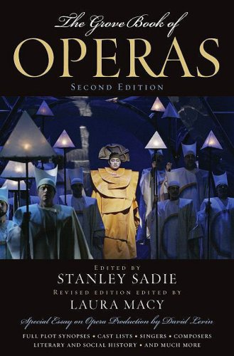 Grove Book of Operas  2nd 2009 edition cover