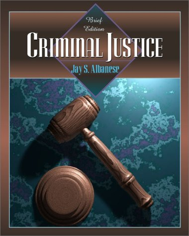 Criminal Justice   2001 (Brief Edition) edition cover