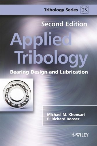 Applied Tribology Bearing Design and Lubrication 2nd 2008 edition cover