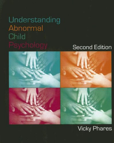 Understanding Abnormal Child Psychology  2nd 2008 (Revised) 9780471724117 Front Cover