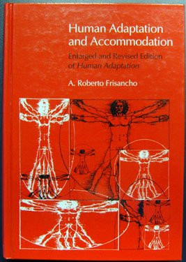 Human Adaptation and Accommodation   1993 (Revised) edition cover
