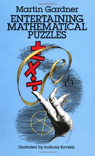 Entertaining Mathematical Puzzles  Reprint  edition cover