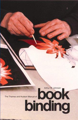 Thames and Hudson Manual of Bookbinding   1978 (Reprint) edition cover
