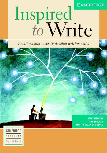 Inspired to Write Student's Book Readings and Tasks to Develop Writing Skills 2nd 2004 edition cover