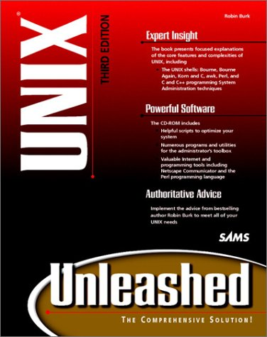 UNIX  3rd 1998 9780672314117 Front Cover