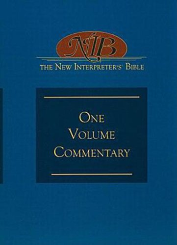 New Interpreter's Bible One-Volume Commentary  2010 edition cover
