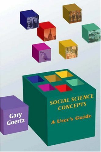 Social Science Concepts A User's Guide  2006 edition cover
