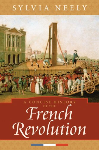 Concise History of the French Revolution   2008 edition cover