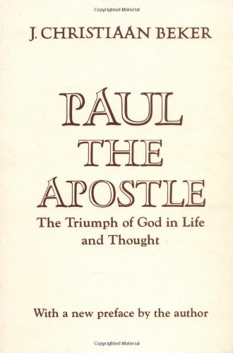 Paul the Apostle The Triumph of God in Life and Thought N/A edition cover