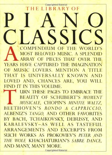 Library of Piano Classics   1987 edition cover