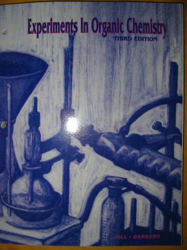EXPERIMENTS IN ORGANIC CHEMIST 3rd 2005 edition cover