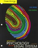 Wrightsman's Psychology and the Legal System  8th 2014 edition cover
