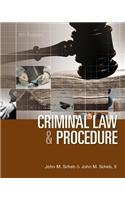 Criminal Law and Procedure:   2013 9781285070117 Front Cover