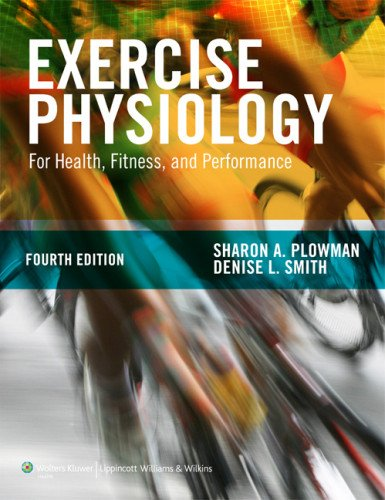 Exercise Physiology For Health, Fitness, and Performance 4th 2014 (Revised) edition cover