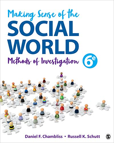 Making Sense of the Social World: Methods of Investigation  2018 9781506364117 Front Cover