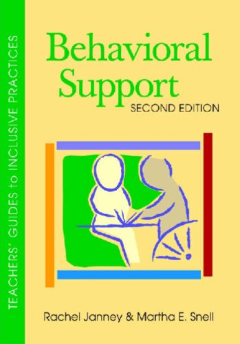 Behavior Support 3rd 2008 edition cover