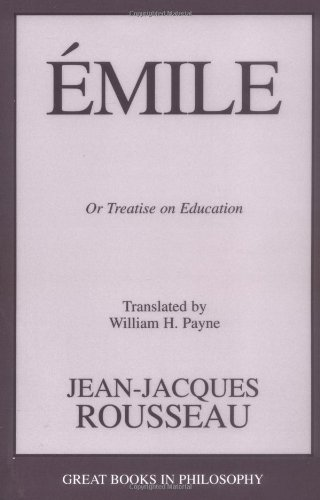 Emile Or Treatise on Education  2003 (Unabridged) edition cover