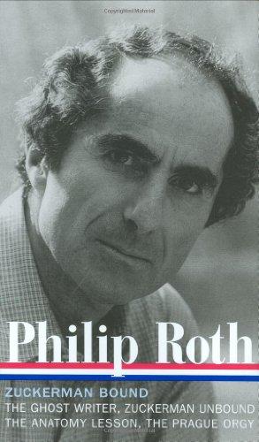 Philip Roth - Zuckerman Bound The Ghost Writer; Zuckerman Unbound; the Anatomy Lesson; the Prague Orgy  2007 edition cover