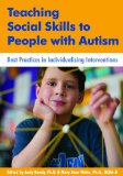 Teaching Social Skills to People With Autism: Best Practices in Individualizing Interventions  2013 edition cover
