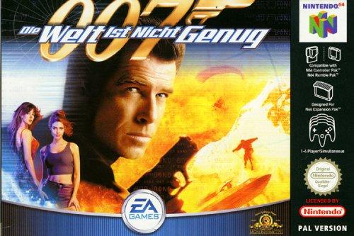 James Bond - Die Welt ist nicht genug Nintendo 64 artwork