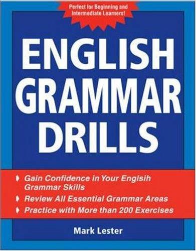 English Grammar Drills   2009 edition cover