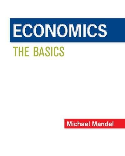 Economics The Basics  2009 edition cover