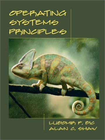 Operating Systems Principles   2003 edition cover