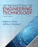 Introduction to Engineering Technology  8th 2015 edition cover