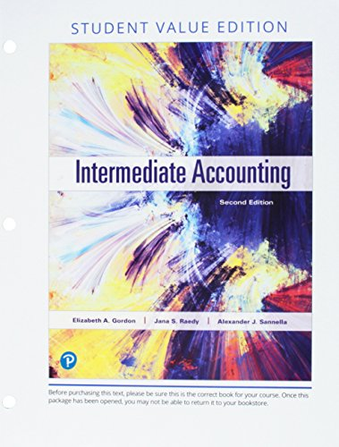 Intermediate Accounting + Myaccountinglab With Pearson Etext Access Card: Value Edition  2018 9780134833118 Front Cover