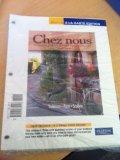Chez Nous Branche sur le monde francophone, Books a la Carte Edition 4th 2010 9780205762118 Front Cover