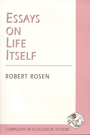 Essays on Life Itself   2000 9780231105118 Front Cover