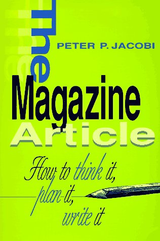 Magazine Article How to Think It, Plan It, Write It N/A edition cover