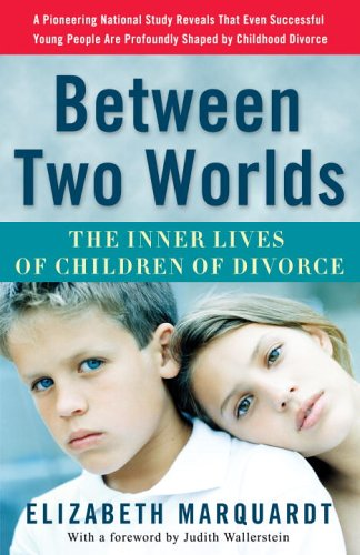 Between Two Worlds The Inner Lives of Children of Divorce N/A edition cover