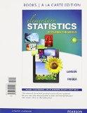 Elementary Statistics Picturing the World, Books a la Carte Edition 6th 2015 edition cover