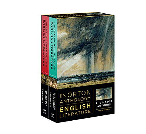 The Norton Anthology of English Literature, the Major Authors:  10th 2018 9780393603118 Front Cover