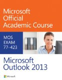 77-423 Microsoft Outlook 2013   2014 edition cover