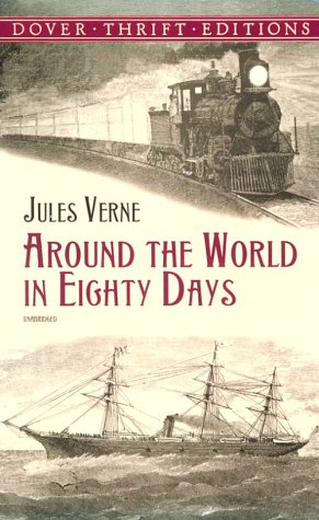 Around the World in 80 Days   2000 edition cover