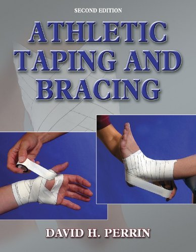 Athletic Taping and Bracing  2nd 2005 (Revised) edition cover