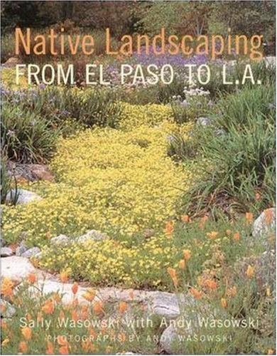 Native Landscaping from el Paso to L. A.   2000 edition cover