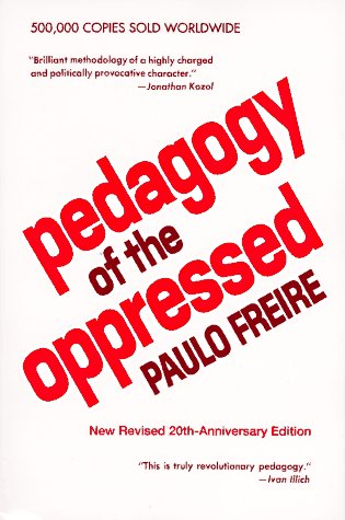Pedagogy of the Oppressed  20th 1993 edition cover