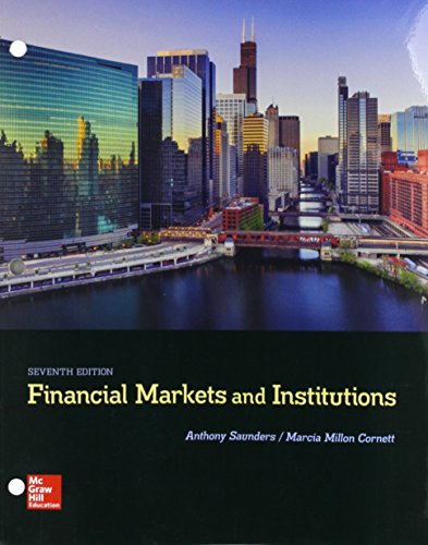 FINANCIAL MARKETS+INSTITUTIONS (LOOSE)  N/A 9781260166118 Front Cover