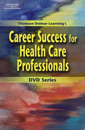 Career Success for Health Care Professionals   2004 (Workbook) 9781401835118 Front Cover