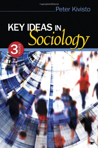 Key Ideas in Sociology  3rd 2011 edition cover