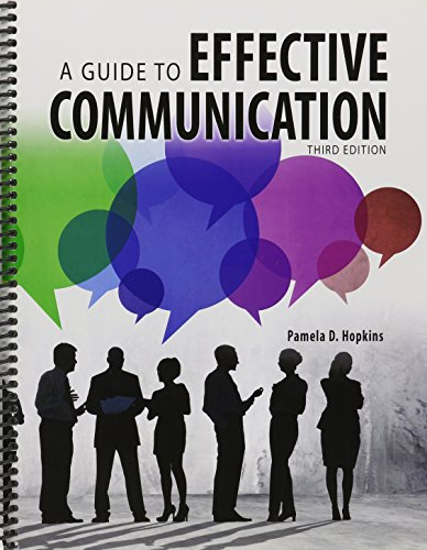 Guide to Effective Communication  3rd (Revised) 9781465253118 Front Cover