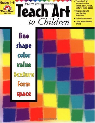 How to Teach Art to Children  N/A 9781557998118 Front Cover