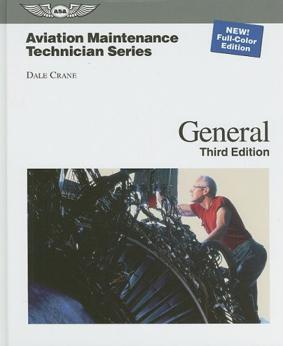 Aviation Maintenance Technician - General  3rd edition cover