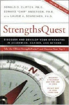 StrengthsQuest   2006 9781595620118 Front Cover
