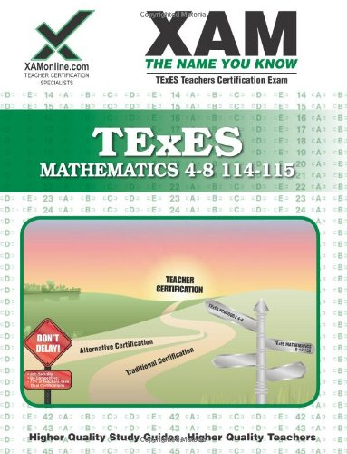 TExEs Mathematics 4-8  N/A edition cover