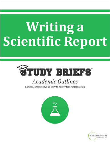 Writing a Scientific Report cover