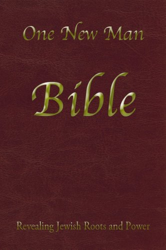 ONE NEW MAN BIBLE              N/A edition cover